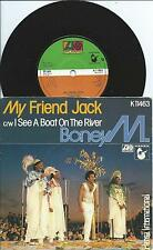 "Boney M:My friend Jack/I see a boat on the river :7"" Vinyl Single:UK Hit"