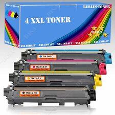 4x Toner kompatibel mit Brother TN-242 TN-246 DCP-9017 CDW / DCP-9022 CDW BT