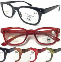 201886 Stylish Retro Unisex Reading Glasses/Spring Hinges/Simple Plain Designed