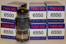Matched Sextet (6 tubes) Tung Sol 6550 Reissue amp tubes, BRAND NEW