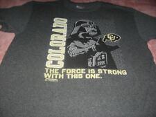 University of Colorado Darth Vader   Adult Large T-Shirt