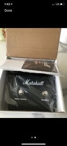 Marshall PEDL-90012 2-Button FX Loop Amp Footswitch DSL40CR pedal controller DSL