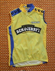 Ben&Jerry's, Cycling Vest by Pearl iZUMi, Size - Small