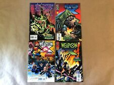 WEAPON X: THE AGE OF APOCALYPSE #1-4 (1995) Marvel Complete Set COMB SHIP Q