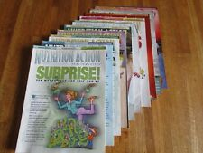 """Nutrition Action"" Health Letter magazine 10 issues 2008 VGC No Advertising"