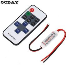 12V RF Wireless Remote Switch Controller Dimmer for Mini LED Strip Lights New