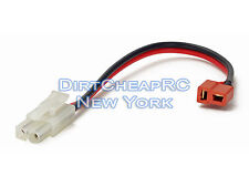 Charge Cable Adapter: Deans Female to Tamiya/Molex/Kyosho Male, T-Plug LiPo Lead