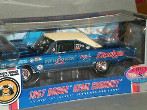 1/18th 1967 Dick Landy Dodge Hemi Coronet