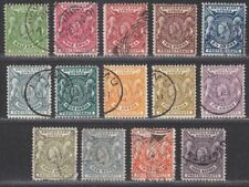 British East Africa 1896 Queen Victoria Set to 3r Used SG65-77 couple revenues