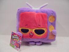 Shopkins Plush Toy Teenie TV 7 1/2 Inch New USA Seller Moose + Fast Ship+