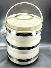 Insulated casserole hotpot, 3-tier hot and cold food storage flask 4.5 Hotpot
