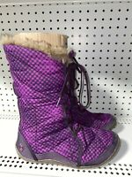Columbia Minx Mid Womens Waterproof Insulated Winter Snow Boots Size 9 Purple