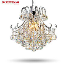 Luxury Crystal Chandelier Living Room Lamp lustres de cristal indoor Pendants vz
