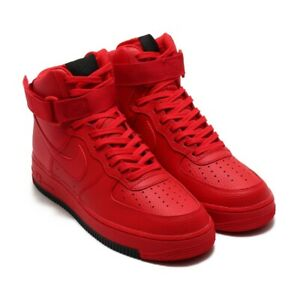 Men's Nike Air Force 1 High '07 1 Shoe Size 8.5 University Triple Red AO2440-600