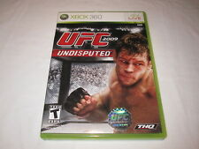 UFC 2009 Undisputed (Microsoft Xbox 360) Original Release Complete Excellent!