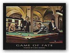 Game of Fate by Chris Consani ELVIS MARILYN DEAN BOGART 14x11