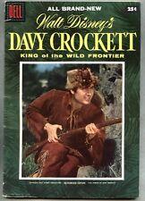 Dell Giant Davy Crockett King Of The Wild Frontier #1-1955 fn Fess Parker Disney