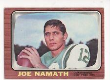 1966 Topps Football Card #96 Joe Namath-New York Jets