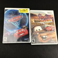 Disney Pixar Cars Game Lot (Nintendo Wii) CARS 2 & Mater-National Championship