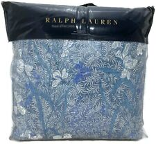 Ralph Lauren Meadow Lane Kaley King Comforter Blue Multi Floral MSRP $430