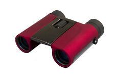 8x25 Binoculars Levenhuk Rainbow RED BERRY - BAK4 Multicoated Waterproof Compact