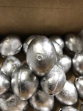 New - 3oz Egg Slip Fishing Sinkers (25 Pieces) Fresh Or Saltwater Fishing!