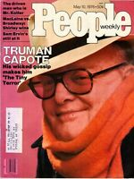 Truman Capote People Magazine May 10, 1976 Issue