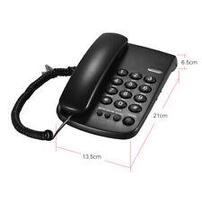 Corded Phone Big Button Landline Caller ID Desktop Telephone Home Hotel HOT M2F8
