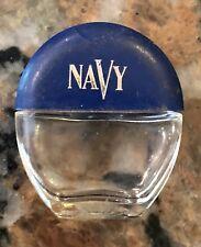 Navy Perfume Bottle .17 Oz. 1.5� T 7/8 Full