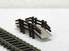 JORDAN #22 scenery FOOT BRIDGE FOR PARK 6cm long HO scale new in pack
