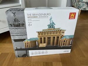 Wange 6211 Brandenburger Tor in Berlin Klemmbausteine Architektur Modell NEU