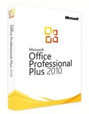 MS Microsoft Office 2010 Professional Plus / Vollversion / Product Key /per Ebay