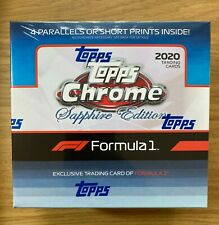 New listing 2020 Trading Cards: Topps® Formula 1 Chrome Sapphire Edition (Online Exclusive)