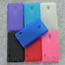 For LG Optimus L7II P710 Dual P715 New TPU Matte Gel Skin case Cover