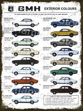 30x40cm Holden GMH Cars Rustic Tin Sign