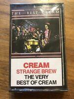Cream Strange Brew The Very Best of Cream 1983 Cassette Tape Album Sealed New