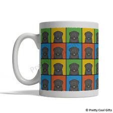 Black Russian Terrier Dog Mug - Cartoon Pop-Art Coffee Tea Cup 11oz Ceramic