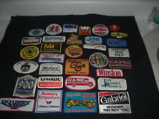 Company Advertising Vintage 1980's Patches Wholesale Lot of 32  Lot #2