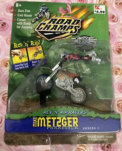 2000 Vintage Road Champs MXS Rev N Rip Mike Metzger freestyle Series 1 Figurine