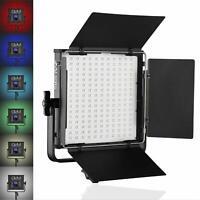 GVM 50RS RGB LED Video Light CRI97+ Adjustable 2000K-5600K LED Continuous Light