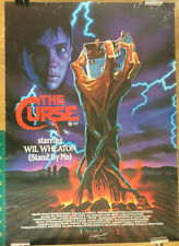 THE CURSE Australian Palace VIDEO POSTER one sheet VHS Explosive horror movie