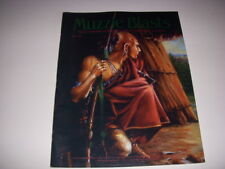 MUZZLE BLASTS Magazine, June, 1999, MAKING AND USING A BOW DRILL, BLACK POWDER!