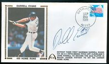 Gateway Cachet DARRELL EVANS Detroit Tigers Auto 400 Home Runs 9/20/88