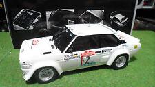 FIAT 131 ABARTH # 2 Rallye San Remo 1980 au 1/18 KYOSHO 08375B voiture miniature