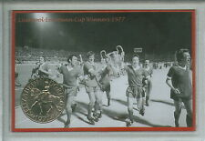 Liverpool YNWA Emlyn Hughes European Cup Final Winners Retro Coin Gift Set 1977