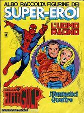 Rare 1976 Spider-Man Fantastic Four ITALIAN STICKER ALBUM COMPLETE 240 STICKERS