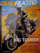 Dueruote 46 2009 In Egitto con le Big Tourer Harley Davidson. Bimota DB7  [Q73]