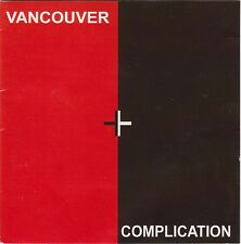 VARIOUS vancouver complication CD CANADA PUNK SYNTH NEW WAVE compilation L@@K