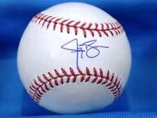 JAY BRUCE Tri Star COA Hand Signed Major League Autograph Baseball indians