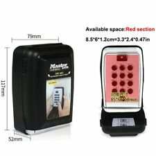 Master Lock Key Safe Box Metal Password Locker Wall Mount Combination Code Keys